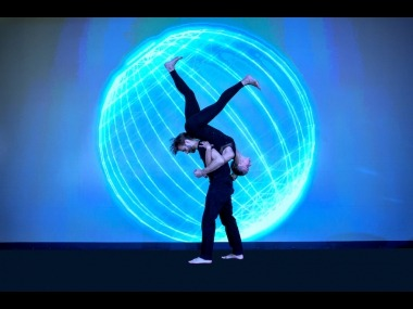 Dance of the Light_Interactive Projection