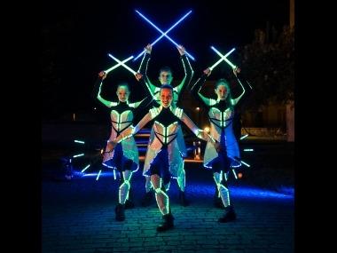 LED kostým