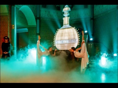 Video Mapping Dance Eventshow