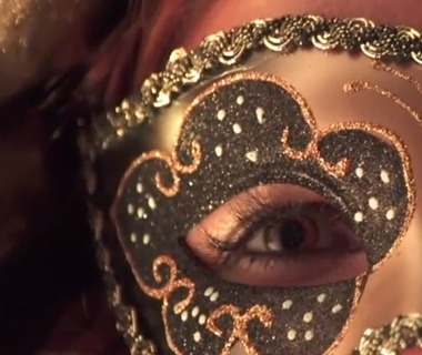 Mask in Church